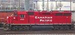 CP 4522 sleeps on lucky track 13