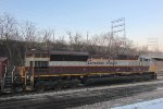 Heritage colors lead 288 into Muskego Yard