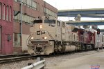 Daily intermodal 199 led by the new SD70ACU Army tribute loco
