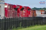 CP 7053 and 9370 head thru mp 90 for Muskego yard