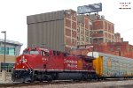Intermodal 199 leader is a recently rehabbed AC44CWM