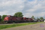 287 rolls thru with both an EMD and GE rebuild