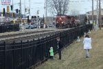 Young railfans will get a big wave