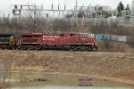 Combined CP train 384 & 375 rolls into Muskego yard