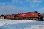 288 will stop at Kilborn until the CP holiday train pullls out of WI Dells
