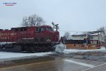 286 blasts thru the late-season plow berms