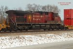 DPU on Sunday's CP 199 intermodal to the Twin Cities