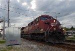 CP 288 rolls thru mp 90 (68th St.)
