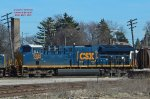 687 potash train had 3 CSX heads including this Tier 4 heavyweight