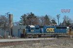 687 potash train had 3 CSX heads