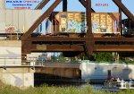 Metra ballast loads on 470 crossing KK
