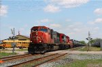 Westbound mixed freight #331