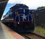 RNCX 1810 Leads Amtrak 75 Departing Durham