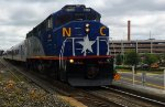 RNCX 1869 Leads Amtrak 75 Arriving In Durham, NC