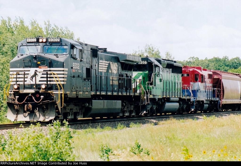 NS 9302 East
