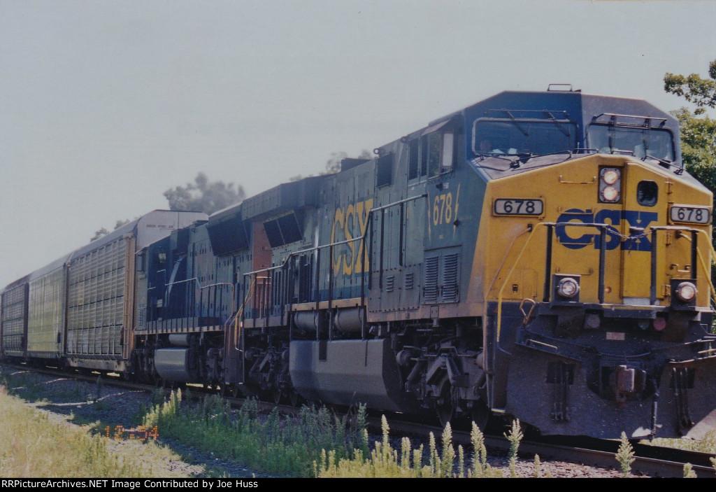 CSX 678 West