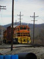 Bradford yard train