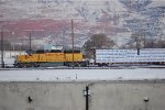 UP SD-40N #1629 is switching the yard in Salt Lake City, UT. 12/15/2013