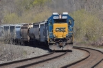 CSX 8538 leads Q640 (Cumberland to Selkirk)