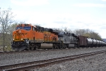 A BNSF ES44C4 leads oil east