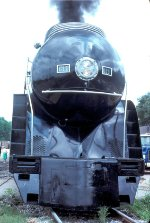 Spic and span nose of N&W 611 in 1982