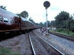 611 and train en route to Roanoke.