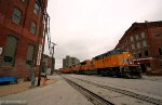 UP 8993 in the West Bottoms