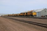 UP 6768 Strolls through Kearney Nb on the Triple track main.
