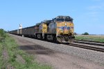 UP 5640 leads a coal bucket down the Triple track.