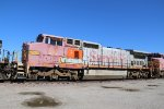 BNSF 910 Sits in the storage line at Kc.