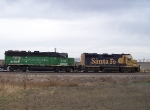 I Haven't seen a BN Locomotive with this Paint Scheme in Years!