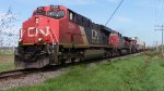 CN 2296 Leads Train 120