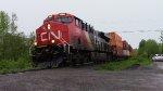 CN 2868 Leads Train 473