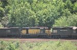 CR GP38 7866, CNW GP30 821, and U23B 2742