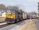 CSX 693 (Q142) heading south
