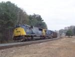 CSX 731 on N157 (empty coal) heading north