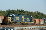 CSX 6411 and 2341, another Mother-Slug set for Wildwood.