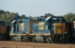 CSX 6411 and 2341.