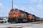 DPUs of SB BNSF coal train