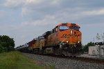 WB BNSF oil train