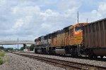 Executive leads NB BNSF coal train