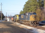 CSX 8746 on Q124 heading south