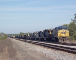 CSX 9014 with a lot of power