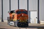 BNSF 8368 waits for Her BNSF Test Crew from BNSF Alliance Yard, Texas.