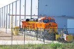 BNSF 8369 on the Transfer Dolly.