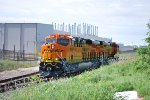 BNSF 8369 has Latched onto BNSF 8368 as they start their Test Run heading Northbound on the BNSF Main.d