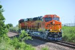 BNSF 8369 and BNSF 8368 Get ready to Head Northbound on the BNSF Main Line.