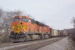 BNSF 5737 waiting near the Federal Penn