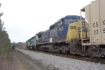 CSX 7900 on Q614 heading south