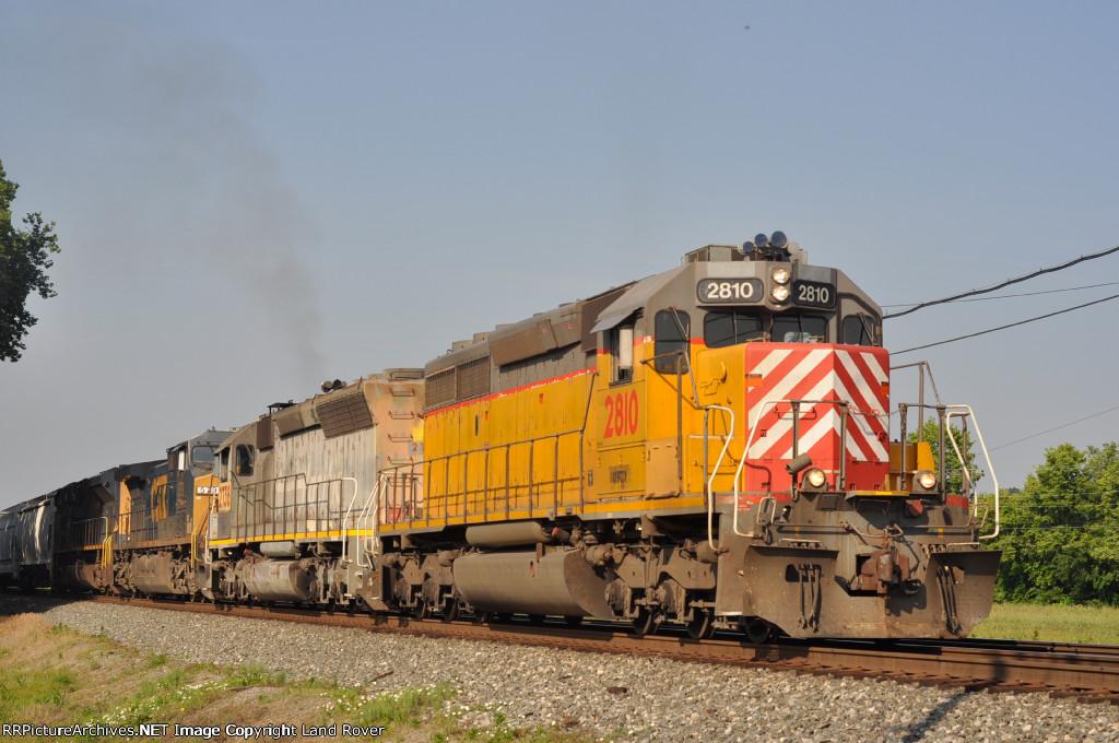 OFOX 2810 On CSX J 782 Northbound